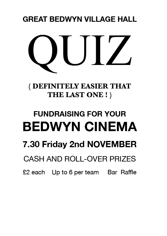Quiz poster Nov 18