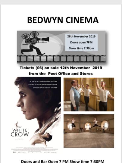 November Bedwyn Film poster